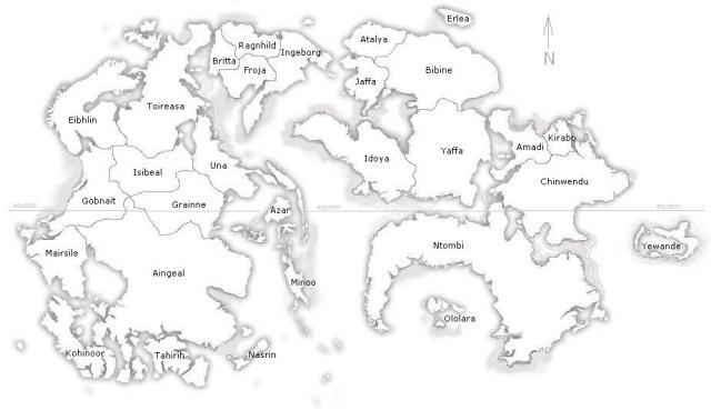 Map of Muirin