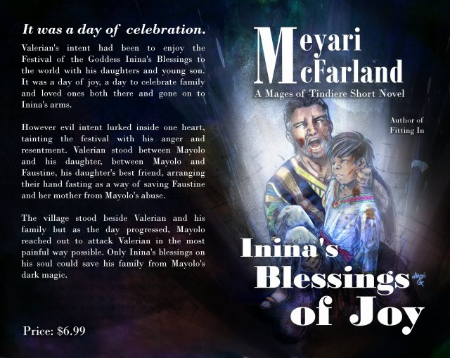 Cover for Inina's Blessings of Joy